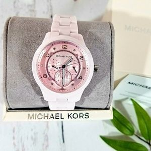 💯NWT Michael Kors Runaway Ceramic Watch MK6629